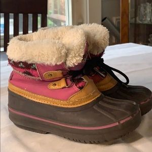 London Fog little girls Tottenham Winter Boots